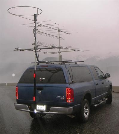 Copper Talk Mounting Multiple Predator 10k Antennas On Van