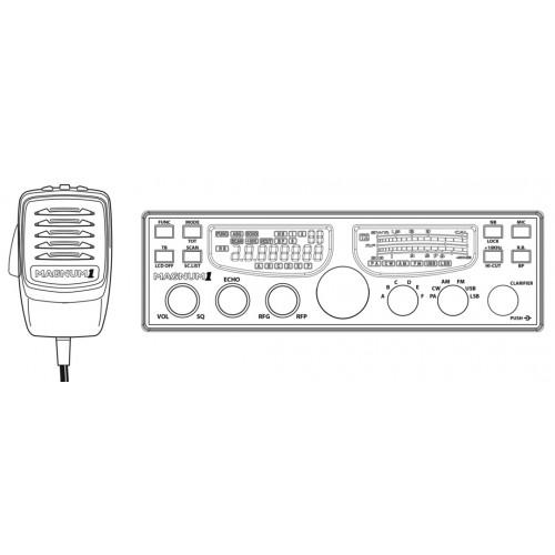 magnum1 10  u0026 12 meter radio