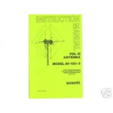 Antenna Specialist AV-122 Owners Manual
