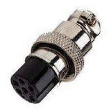 Mic Connector 6 Pin Female