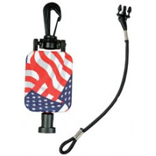 CB Microphone Stars and Stripes Gear Keeper