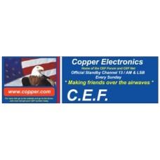 CEF Bumper Sticker