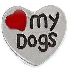 Love My Dogs Charm